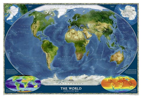 Спутниковая карта земли спутниковая